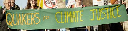 Quaker banner